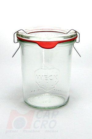 160 ml weck mini sturzglas inkl glasdeckel. Black Bedroom Furniture Sets. Home Design Ideas