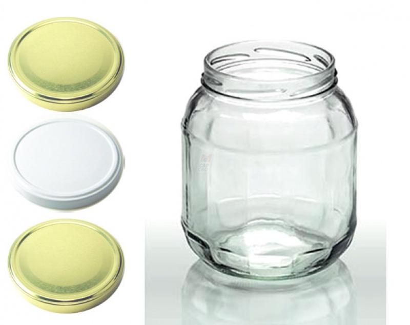 1062 ml facettenglas inkl to deckel 89 1 29 capcro. Black Bedroom Furniture Sets. Home Design Ideas