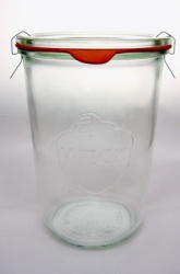 850 ml WECK-Sturzglas inkl. Glasdeckel